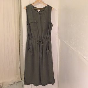 Olive Green Dress Size XXL